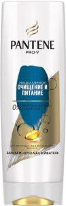 PANTENE Бальзам-ополаскиватель очищение и питание с мицеллярной водой 360мл