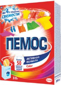 ПЕМОС Порошок стиральный колор 320гр