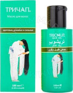 Тричап масло для волос Здоровые Длинные и Крепкие Травяной сбор 100мл