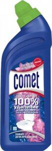 Comet Гель для чистки туалета Свежесть лепестков 450мл