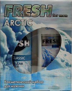 Fresh Arctic Подарочный набор Шампунь 300мл+Пена для бритья 200мл