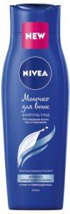 Nivea Шампунь-уход Молочко для волос с Молочными протеинами 250мл