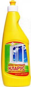 Кларус Чистящий крем для пластиковых окон 500мл