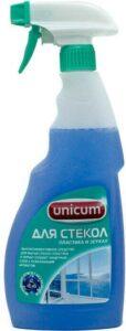 Unicum средство для чистки Стёкол Пластика и Зеркал триггер 500мл