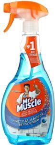 Mr.Muscle жидкий триггер для стекол и поверхностей со спиртом 500мл