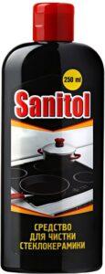 Sanitol средство для чистки Стеклокерамики 250мл