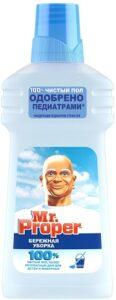 MR PROPER Моющая жидкость для полов и стен Бережная уборка 500мл