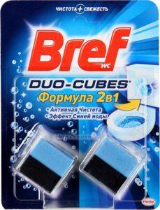 Bref Чистящее средство для унитаза ДУО-КУБ 2х50гр