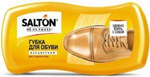 Salton губка для обуви для гладкой кожи Бесцветная 1шт