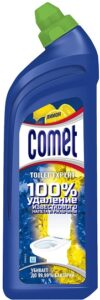 Comet Средство чистки для туалета Лимон 750мл