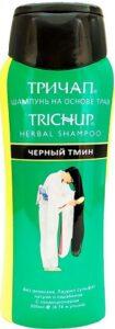 Тричап шампунь против выпадения волос Травяной сбор Чёрный тмин 200мл