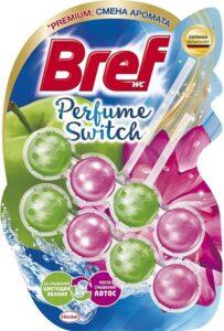Bref Чистящее средство для унитаза Perfume Switch Яблоня и Лотос 2х50гр