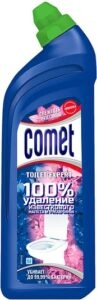 Comet Гель для чистки туалета Свежесть лепестков 700мл