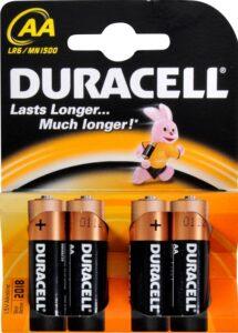 Duracell Батарейки пальчиковые 1шт