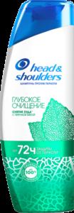 HEAD & SHOULDERS Шампунь против перхоти Detox+Глубокое очищение с Перечной мятой 300мл