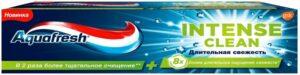 Aquafresh Senses Зубная паста Интенсивное очищение Длительная свежесть 75мл