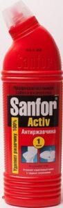 SANFOR ACTIV средство для чистки и дезинфекции антиржавчина 750гр