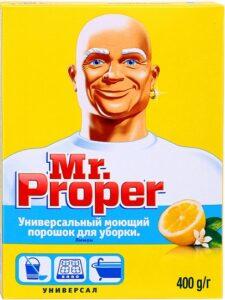 MR PROPER Универсальное чистящее средство Лимон 400гр
