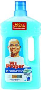 MR PROPER Моющая жидкость для полов и стен Горный ручей и прохлада 1000мл