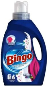 BINGO жидкий порошок для стирки Whites&Colors 2600мл
