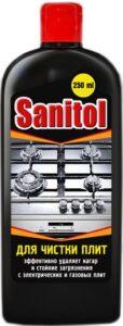 Sanitol средство для чистки ПЛИТ 250мл