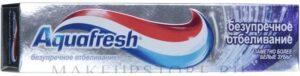 Aquafresh Senses Зубная паста Безупречное отбеливание 100мл
