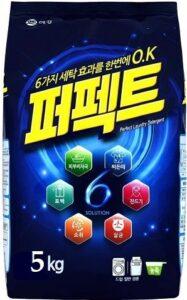 Laundry Detergent Концентрированный порошок для стирки Бесфосфатный Perfect&Solution 5кг