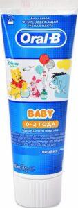 ORAL B Baby Зубная Паста 0-2+лет Мягкий вкус 75мл