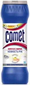 Comet Порошок Лимон без хлоринола банка 475гр