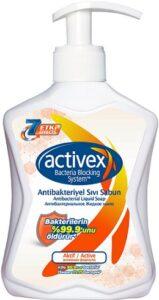 Activex мыло жидкое Active Антибактериальное Активная формула 300мл