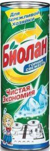 Биолан чистящее средство Горная свежесть 400гр