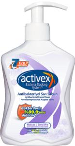 Activex мыло жидкое Sensitive Антибактериальное для чувствительной кожи 300мл