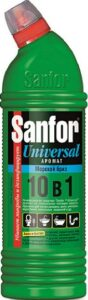 SANFOR UNIVERSAL средство для чистки и дезинфекции Морской бриз 1000мл
