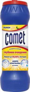 Comet Порошок Лимон с хлоринолом банка 475гр