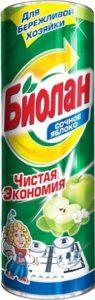 Биолан чистящее средство Сочное яблоко 400гр
