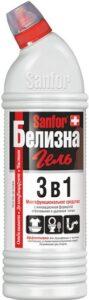 SANFOR Чистящее средство 3в1 Белизна гель 1000гр