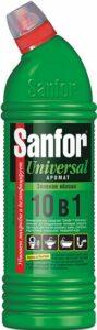 SANFOR UNIVERSAL средство для чистки и дезинфекции Зеленое яблоко 750гр