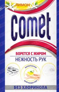 Comet Порошок Лимон без хлоринола Пачка 350гр