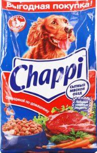 Chappi собачий корм с Говядиной по домашнему пак. 600гр
