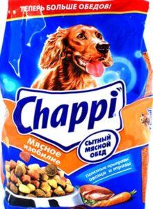 Chappi собачий корм Мясное изобилие пак. 600гр