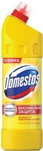 Domestos чистящее средство Лимонная Свежесть (желтый) 1000мл