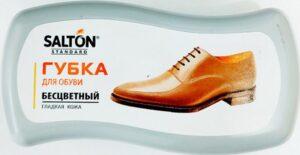 Salton губка для обуви для гладкой кожи Standard Бесцветная 1шт