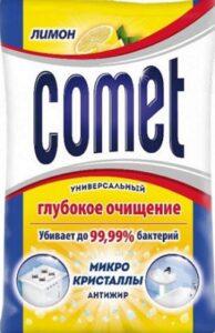 Comet Порошок Лимон с хлоринолом Пачка 900гр