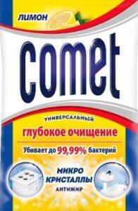 Comet Порошок Лимон с хлоринолом Пачка 350гр
