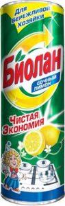 Биолан чистящее средство Сочный лимон 400гр