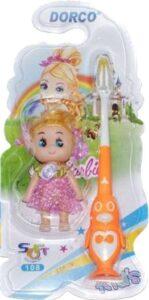 Dorco Зубная щётка+кукла Детская