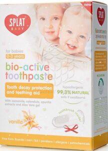 Splat Baby Зубная паста детская Биоактивная Ваниль 40мл