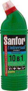 SANFOR UNIVERSAL средство для чистки и дезинфекции Морской бриз 750мл