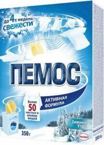 ПЕМОС Порошок стиральный ЗИМНЕЕ УТРО 350гр