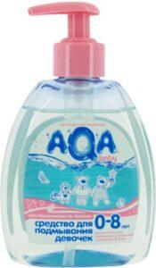 AQA средство для подмывания Девочек 0-8лет 300мл